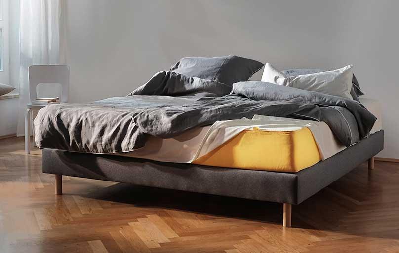 Innovative matratze fur doppelbett erlaubt eine bewegungsfreiheit