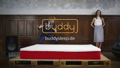 Photo of Buddy sleep Matratze TV Spot