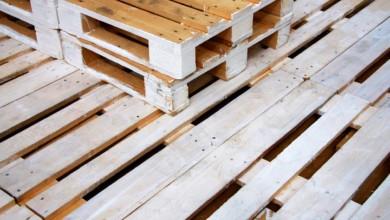 Europaletten Bett bauen – So einfach geht's